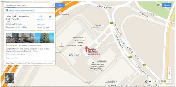 Conference tour map of dubai world trade center gumiabroncs Gallery
